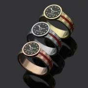 GUCCI2018SS新作登場腕時計の表盤模様付きリングコピーグッチコピー通販リングメンズスーパーコピー男女兼用指輪スーパーコピー独特性