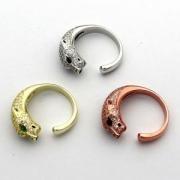 CARTIER指輪男女兼用スーパーコピー光沢動物N4742200パンテール ドゥ カルティエ リングコピーダイヤモンド美しい輝きファッション感