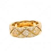 シャネル指輪スーパーコピーダイヤモンドイエローゴールドJ10864CHANELココクラッシュコレクションリングコピー洗練さレディースエレガント