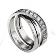 CARTIERダイヤモンド指輪コピー結婚指輪B4095800カルティエエタンセル ドゥ カルティエ リングコピーレディース高級製品優美エレガント