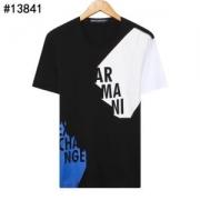 Armani メンズ tシャツ 優れた通気性で大人気になったアイテム コピー アルマーニ 通販 ソフト コーデ 多色可選 最安値