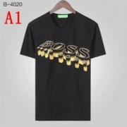 ヒューゴボス tシャツ プリント コピー ユニークなデザインで大歓迎 Hugo Boss ソフト カジュアル コーデ 4色可選