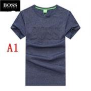Hugo Boss ヒューゴボス メンズ tシャツ オシャレさんは超必須のアイテム ブランド 服 コピー 4色可選 通勤通学 激安