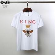 Dolce & Gabbana ドルガバ tシャツ メンズ 春夏期間限定セール!コピー ブラック ホワイト 相性抜群 カジュアル 激安