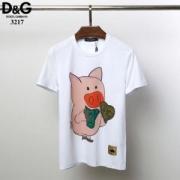 ドルチェ&ガッバーナ Dolce & Gabbana メンズ tシャツ 今季で一番注目されたアイテム 通勤通学 コピー 3色可選 G8IA8THH7EYHGW53