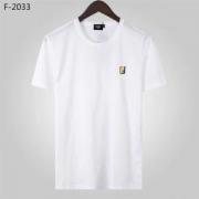 FENDI フェンディ tシャツ コピー シンプルで大人気限定新作 メンズ ブラック ホワイト 相性抜群 日常っぽい 品質保証