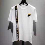 FENDI トップス メンズ 世界中で一番注目されたアイテム フェンディ スーパーコピー ホワイト ブラック カジュアル 最安値