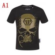 2019限定 男性に人気 半袖Tシャツ 最終価格セールフィリッププレイン 最新で男性にもお勧め  3色可選 PHILIPP PLEIN