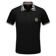 カジュアルさも強めなアイテム  ヴェルサーチ VERSA 2019トレンドスタイル!半袖Tシャツ ファッションに取り入れたスタイル 2色可選